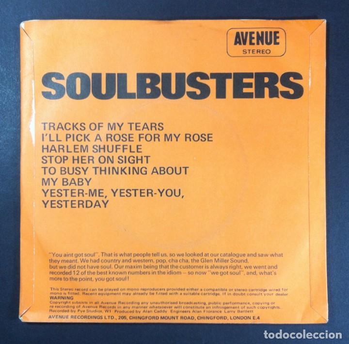 Discos de vinilo: ALAN CADDY - Soulbusters (Soul Vol. II) - EP UK 33rpm 1971 - AVENUE - Foto 2 - 254359725