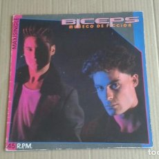Discos de vinilo: BICEPS - MUÑECO DE FICCION MAXI SINGLE 1985. Lote 254363900
