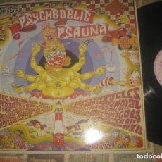 Discos de vinilo: VARIOUS - A PSYCHEDELIC PSAUNA DOBLE (DELERIUM RECORDS -1991) OG ENGLAND RARE NEO SICODELIA PROGUESI. Lote 254366515