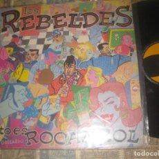 Discos de vinilo: LOS REBELDES -ESTO ES ROCANROL MLP -1984TWIN EDITADO ESPAÑA. Lote 254367305