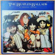 Discos de vinilo: THE BEATLES – THE BEATLES BALLADS (20 ORIGINAL TRACKS). Lote 254367910