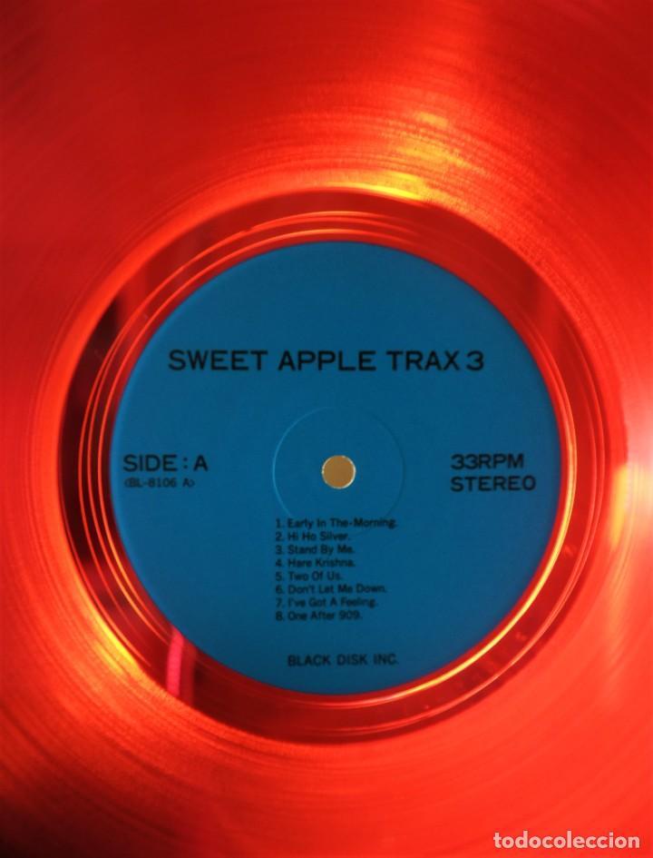 THE BEATLES – SWEET APPLE TRAX 3 (RARO VINILO DE COLOR ROJO) (RARE COLOURED RED VINYL) (Música - Discos - LP Vinilo - Pop - Rock - Internacional de los 70)