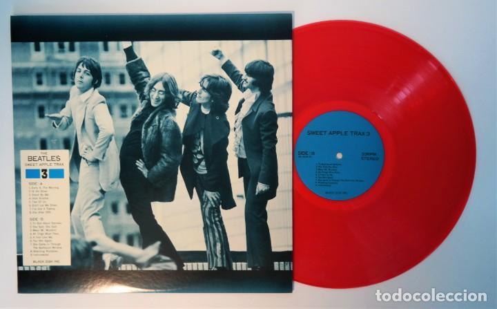 Discos de vinilo: The Beatles – Sweet Apple Trax 3 (raro vinilo de color rojo) (rare coloured red vinyl) - Foto 2 - 254376920