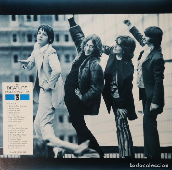 Discos de vinilo: The Beatles – Sweet Apple Trax 3 (raro vinilo de color rojo) (rare coloured red vinyl) - Foto 3 - 254376920