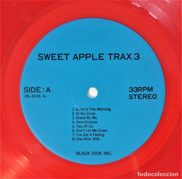 Discos de vinilo: The Beatles – Sweet Apple Trax 3 (raro vinilo de color rojo) (rare coloured red vinyl) - Foto 5 - 254376920