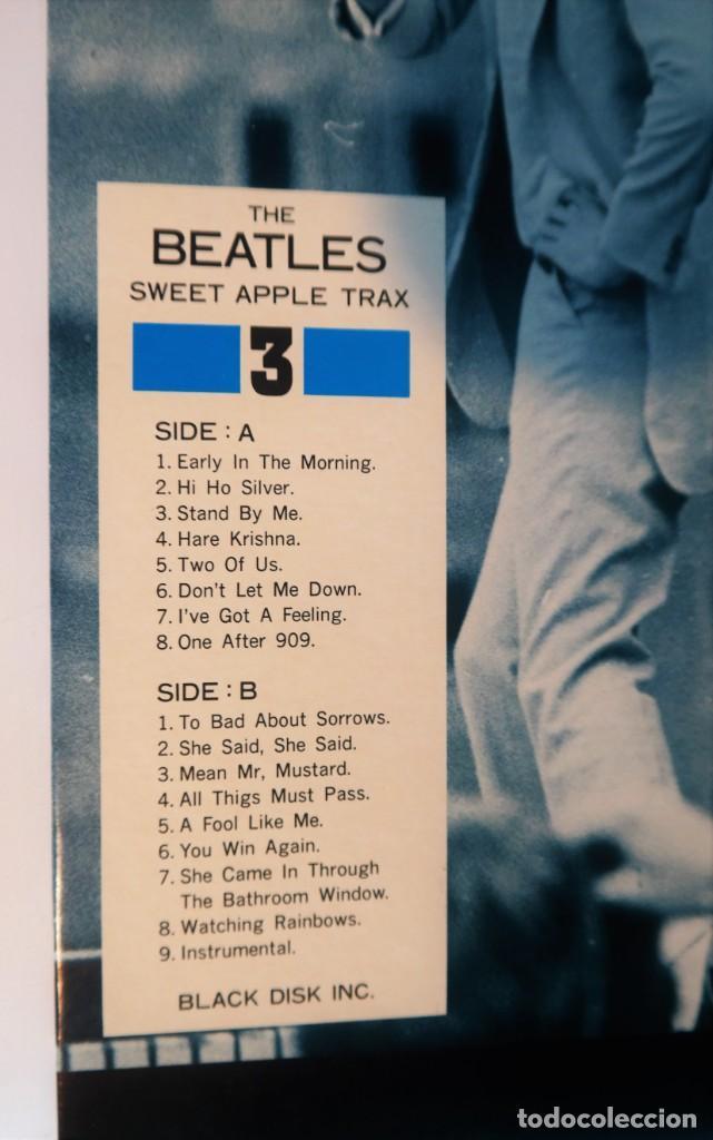 Discos de vinilo: The Beatles – Sweet Apple Trax 3 (raro vinilo de color rojo) (rare coloured red vinyl) - Foto 6 - 254376920