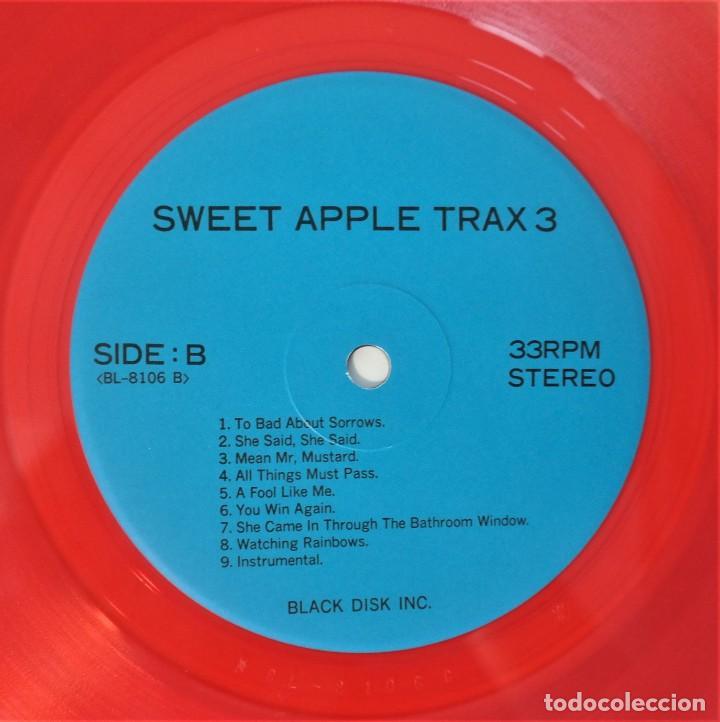 Discos de vinilo: The Beatles – Sweet Apple Trax 3 (raro vinilo de color rojo) (rare coloured red vinyl) - Foto 8 - 254376920