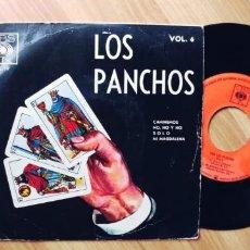 Discos de vinilo: LOS PANCHOS-EP CAMINEMOS +3. Lote 254377200