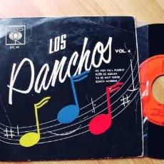 Discos de vinilo: LOS PANCHOS-EP ME VOY PA'L PUEBLO +3. Lote 254377670