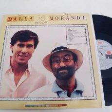 Discos de vinilo: LUCIO DALLA Y GIANNI MORANDI-LP EN EUROPA-ESPAÑOL 1989-NUEVO. Lote 254384015