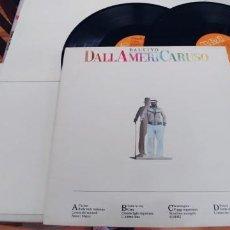 Discos de vinilo: LUCIO DALLA-LP DOBLE DALLAMERICARUSO-ESPAÑOL 1987-BUEN ESATADO-GATEFOLD. Lote 254384880