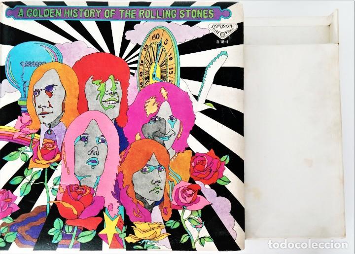 Discos de vinilo: Rolling Stones - A Golden History Of The Rolling Stones (Megararo y solo en la versión japonesa) - Foto 3 - 254386795