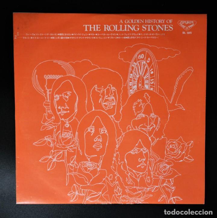 Discos de vinilo: Rolling Stones - A Golden History Of The Rolling Stones (Megararo y solo en la versión japonesa) - Foto 5 - 254386795