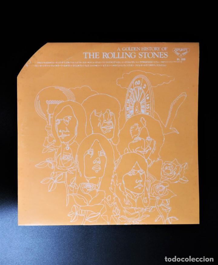 Discos de vinilo: Rolling Stones - A Golden History Of The Rolling Stones (Megararo y solo en la versión japonesa) - Foto 10 - 254386795