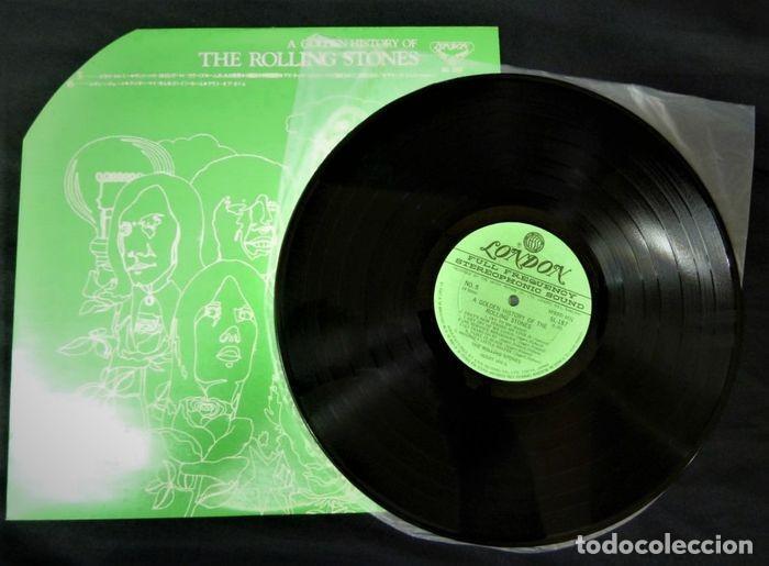 Discos de vinilo: Rolling Stones - A Golden History Of The Rolling Stones (Megararo y solo en la versión japonesa) - Foto 14 - 254386795