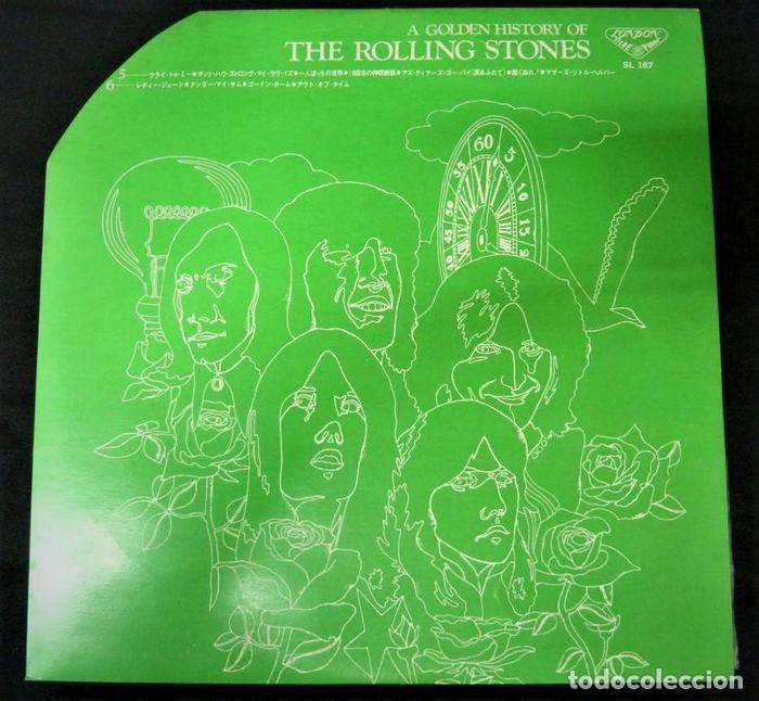 Discos de vinilo: Rolling Stones - A Golden History Of The Rolling Stones (Megararo y solo en la versión japonesa) - Foto 15 - 254386795