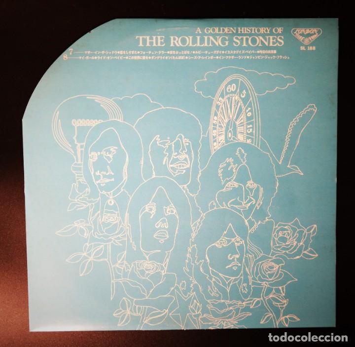 Discos de vinilo: Rolling Stones - A Golden History Of The Rolling Stones (Megararo y solo en la versión japonesa) - Foto 18 - 254386795