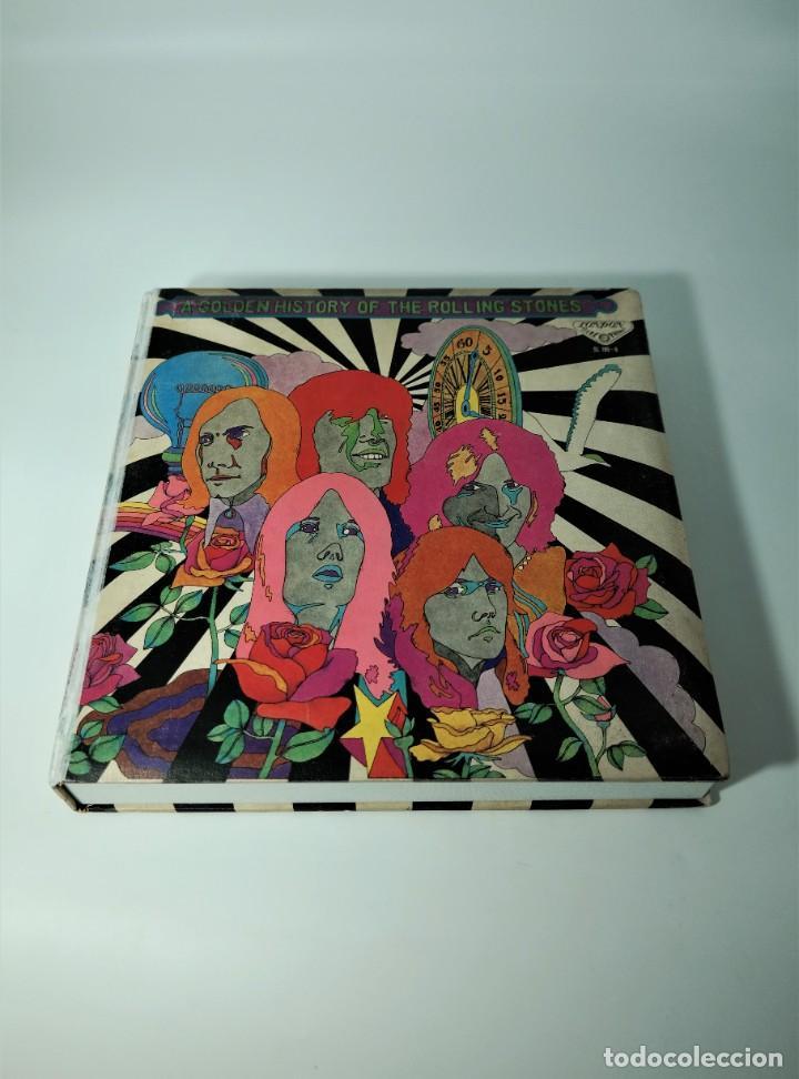 Discos de vinilo: Rolling Stones - A Golden History Of The Rolling Stones (Megararo y solo en la versión japonesa) - Foto 20 - 254386795