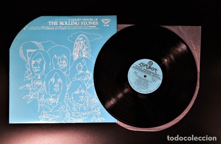 Discos de vinilo: Rolling Stones - A Golden History Of The Rolling Stones (Megararo y solo en la versión japonesa) - Foto 22 - 254386795
