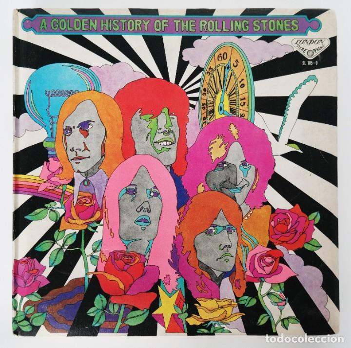 Discos de vinilo: Rolling Stones - A Golden History Of The Rolling Stones (Megararo y solo en la versión japonesa) - Foto 32 - 254386795