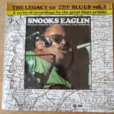 """Discos de vinilo: SNOOKS EAGLIN: """"THE LEGACY OF THE BLUES VOL.2"""" .LP VINILO - VINYL LP. 1971 BLUES. Lote 254389995"""