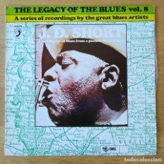 """Discos de vinilo: J.D.SHORT: """"THE LEGACY OF THE BLUES VOL.8"""" .LP VINILO - VINYL LP 1978 BLUES. Lote 254391240"""