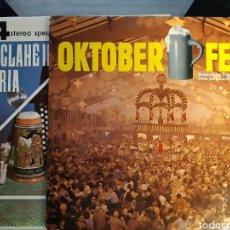 Discos de vinilo: 2 LP OKTOBER FEST Y WILL CLAHE IN BAVARIA. Lote 254391745