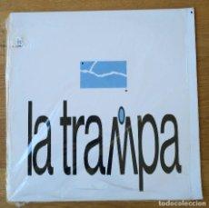 Discos de vinilo: LA TRAMPA: LA TRAMPA. LP VINILO - VINYL LP. 1989. Lote 254398585