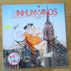 """Discos de vinilo: LOS INHUMANOS: """"NO PROBLEM"""". LP VINILO 1990. NUEVO ! PRECINTADO !. Lote 254401615"""