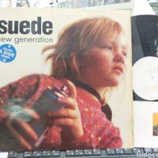 Discos de vinilo: SUEDE MAXI NEW GENERATION U.K. 1995 CON POSTAL. Lote 254401700