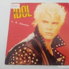 Discos de vinilo: BILLY IDOL/L.A.WOMAN/SINGLE PUNK.. Lote 254402585