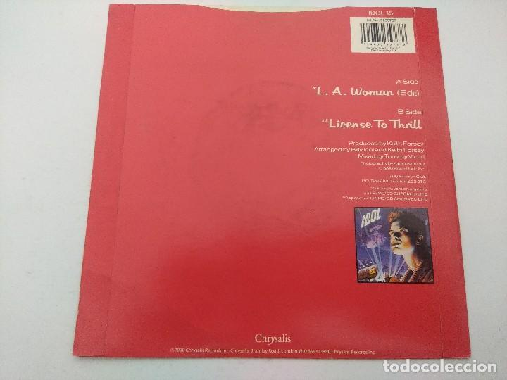 Discos de vinilo: BILLY IDOL/L.A.WOMAN/SINGLE PUNK. - Foto 3 - 254402585