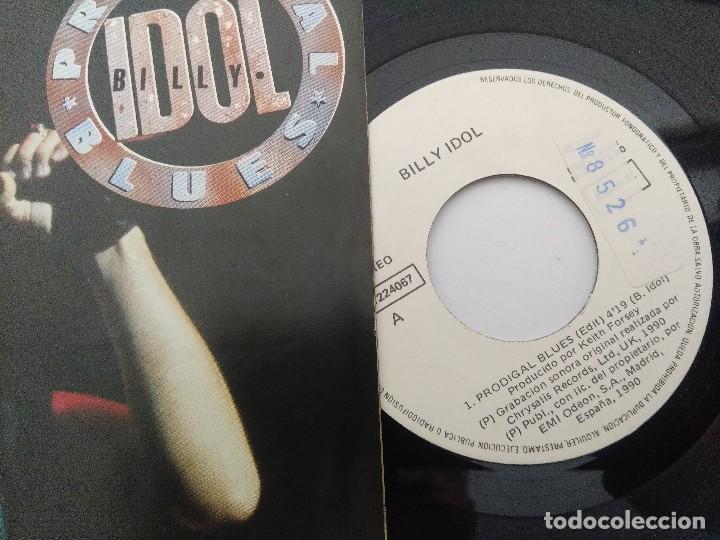 Discos de vinilo: BILLY IDOL/PRODIGAL BLUES/SINGLE PUNK. - Foto 2 - 254403270