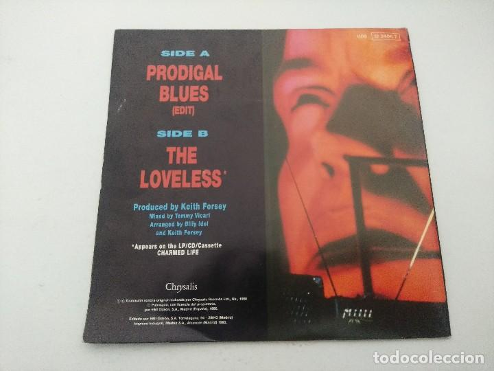 Discos de vinilo: BILLY IDOL/PRODIGAL BLUES/SINGLE PUNK. - Foto 3 - 254403270