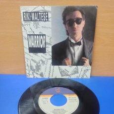 Discos de vinilo: SINGLE DISCO VINILO RIKI MALTESE WARRIOR. Lote 254403915