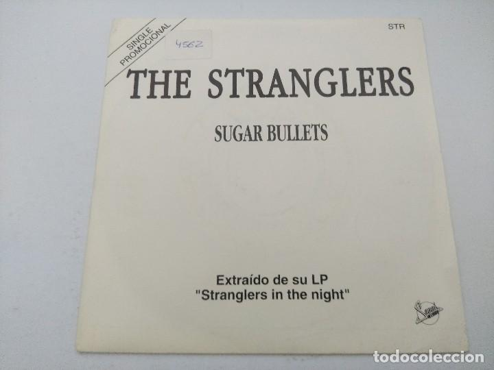 THE STRANGLERS/SUGAR BULLETS/SINGLE PUNK PROMOCIONAL. (Música - Discos - Singles Vinilo - Punk - Hard Core)
