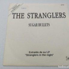 Discos de vinilo: THE STRANGLERS/SUGAR BULLETS/SINGLE PUNK PROMOCIONAL.. Lote 254403965