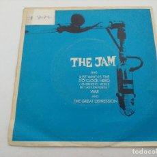 Discos de vinilo: THE JAM/JUST WHO IS THE 50 O'CLOCK HERO/SINGLE PUNK.. Lote 254404920
