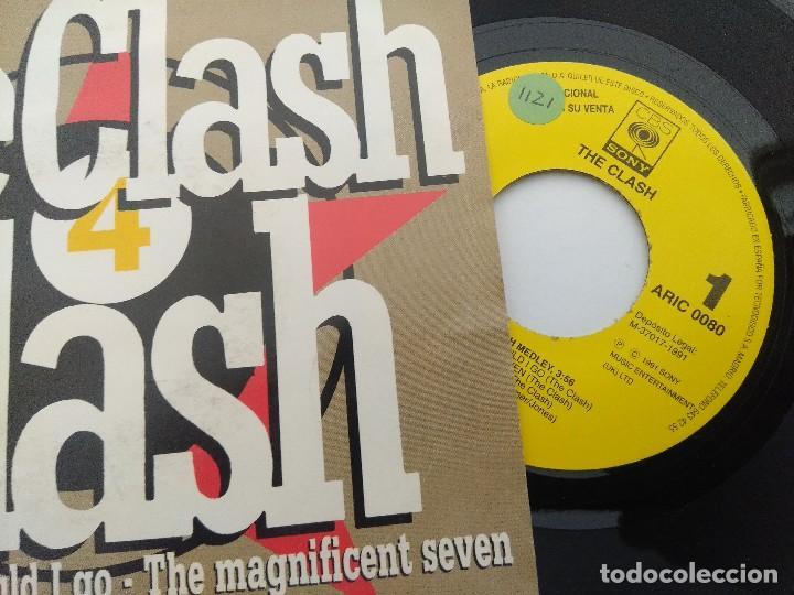 Discos de vinilo: THE CLASH/FLASH MEDLEY/SINGLE PUNK PROMOCIONAL. - Foto 2 - 254406920