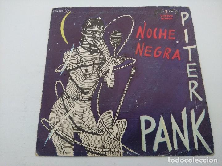 PITER PANK/NOCHE NEGRA/SINGLE. (Música - Discos - Singles Vinilo - Grupos Españoles de los 70 y 80)