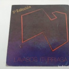 Discos de vinilo: LAVABOS ITURRIAGA/SINGLE.. Lote 254408080