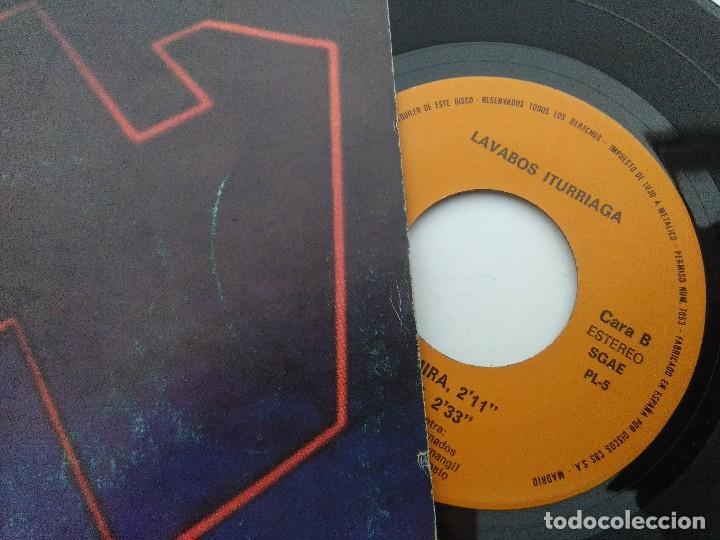 Discos de vinilo: LAVABOS ITURRIAGA/SINGLE. - Foto 2 - 254408080