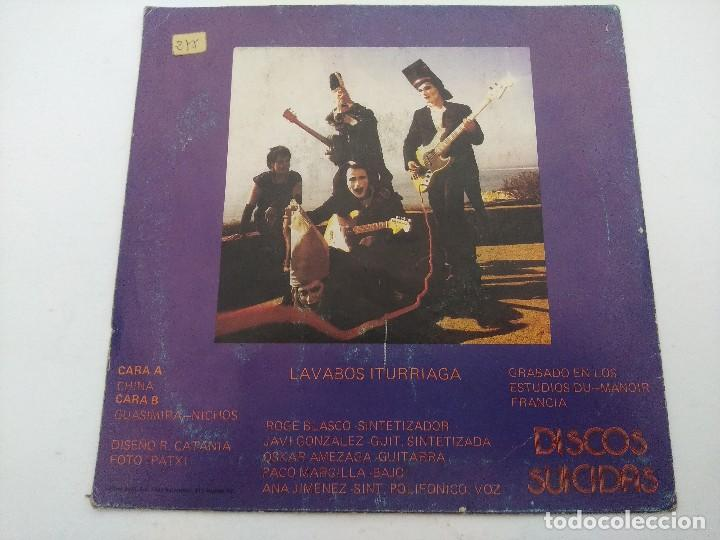 Discos de vinilo: LAVABOS ITURRIAGA/SINGLE. - Foto 3 - 254408080