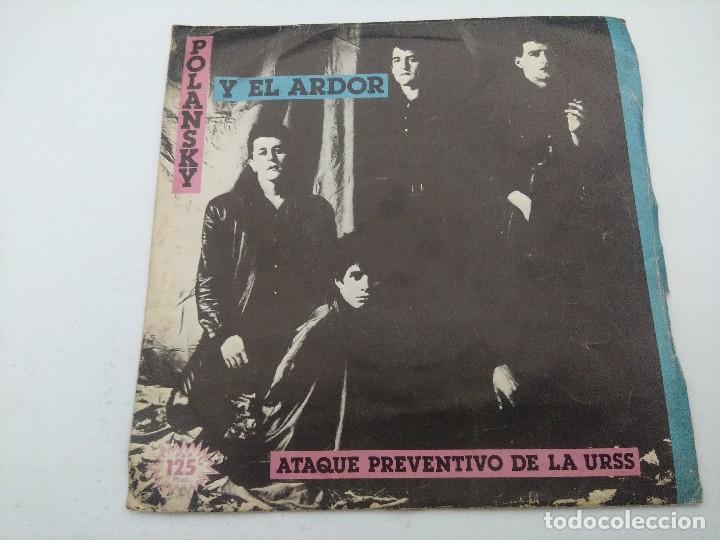 POLANSKY Y EL ARDOR/ATAQUE PREVENTIVO DE LA URSS/SINGLE. (Música - Discos - Singles Vinilo - Grupos Españoles de los 70 y 80)