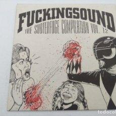Discos de vinilo: FUKINGSOUND/THE SUBTERFUGE COMPILATION VOL 12/SINGLE.. Lote 254408715