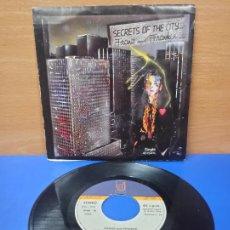 Discos de vinilo: SINGLE DISCO VINILO FRANZ AND FRANKIE SECRETS OF THE CITY. Lote 254410110