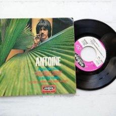 Discos de vinilo: VG++/VG++ ANTOINE (2) – BONJOUR SALUT + 3 EP FRANCIA. Lote 254410360