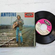 Discos de vinilo: ANTOINE (2) – LES ELUCUBRATIONS D'ANTOINE + 3 EP FRANCIA 1966 VG++/VG++. Lote 254410750