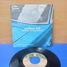 Discos de vinilo: SINGLE DISCO VINILO PETER GABRIEL SOLSBURY HILL. Lote 254412165