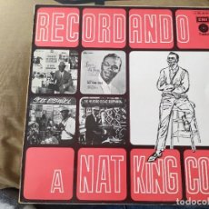 Discos de vinilo: RECORDANDO A NAT KING COLE. Lote 254417715